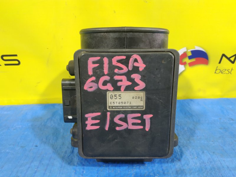 Расходомер воздушный Mitsubishi Diamante F15A 6G73 E5T05071 (б/у)