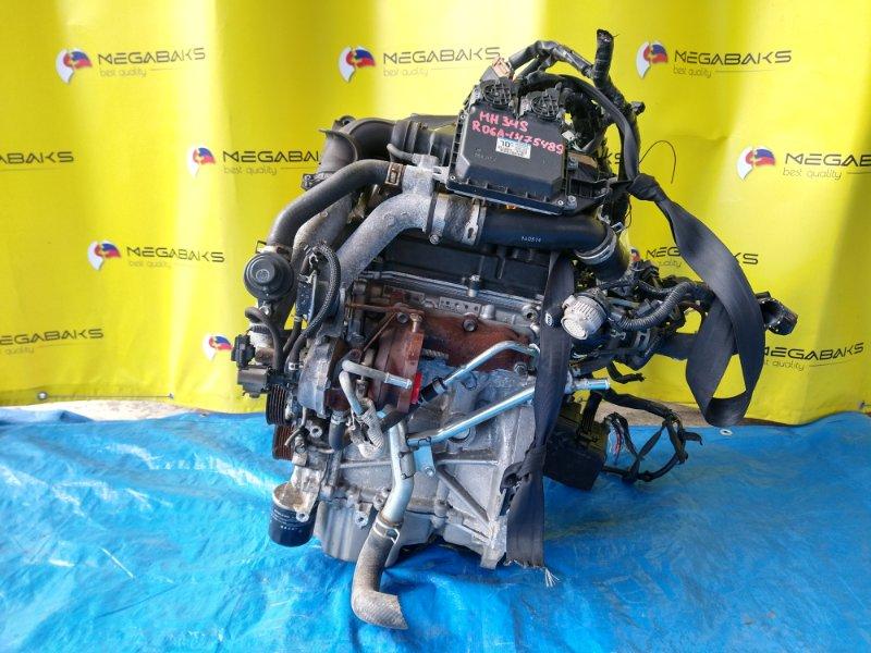 Двигатель Suzuki Wagon R MH34S R06A 1475489 (б/у)