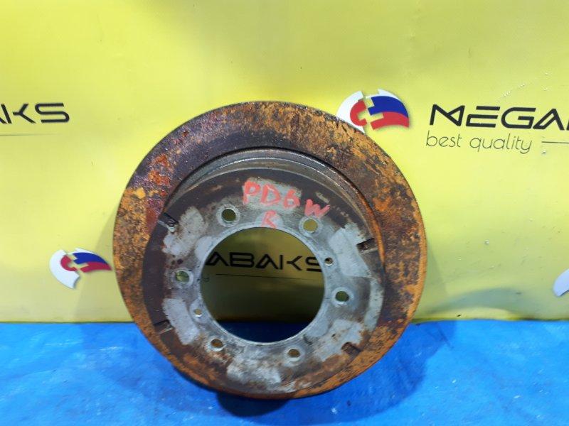 Тормозной диск Mitsubishi Delica PD6W задний правый (б/у)