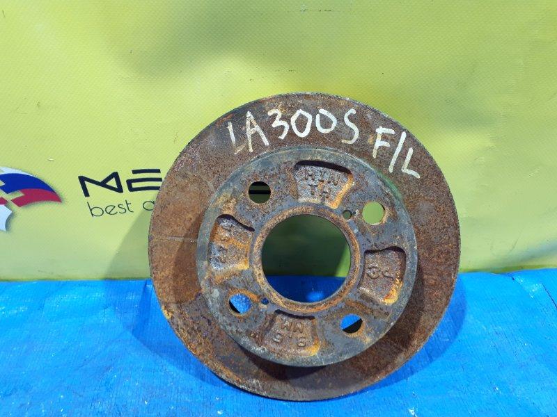 Тормозной диск Daihatsu Mira E:s LA300S передний левый (б/у)