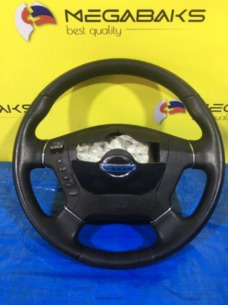 Руль Nissan Fuga Y50 (б/у)