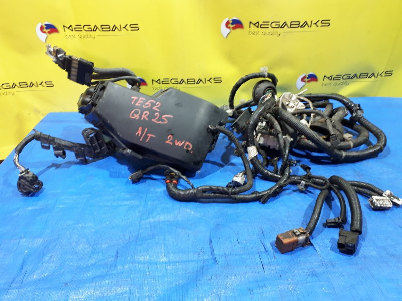 Коса под капот Nissan Elgrand TE52 QR25DE (б/у)