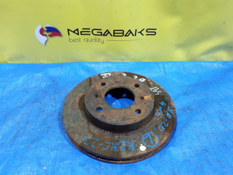 Тормозной диск Nissan Serena NC23 SR20DE передний (б/у)