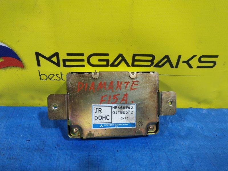Блок управления рулевой рейкой Mitsubishi Diamante F15A MB666963 (б/у)