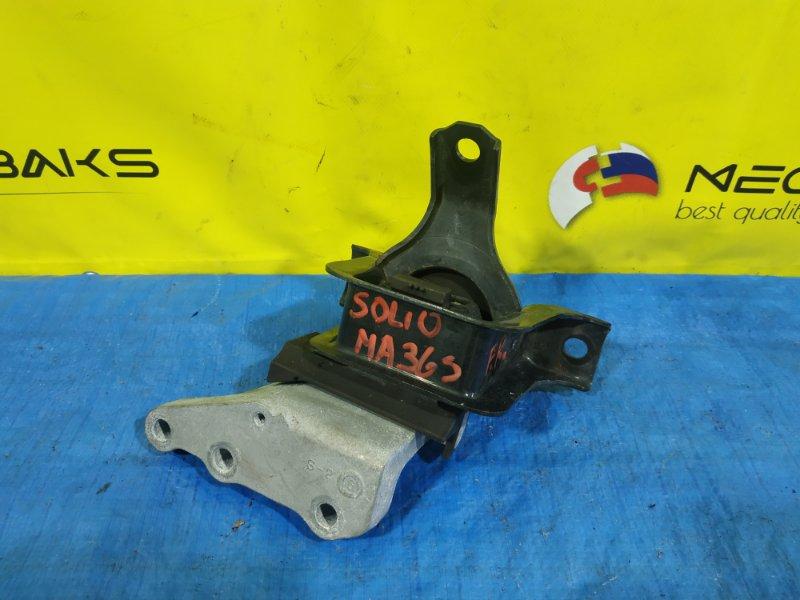Подушка двигателя Suzuki Solio MA36S K12C правая (б/у)