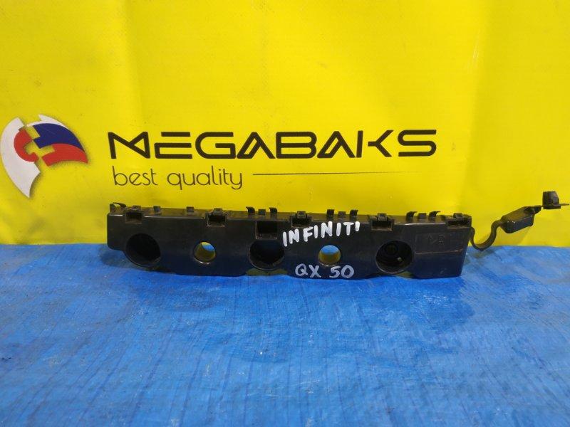 Крепление бампера Infiniti Qx50 J55 заднее правое 85220 5NA0A (б/у)