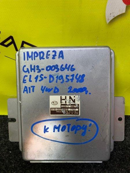 Блок efi Subaru Impreza GH3 EL154 22611 AN670 (б/у)