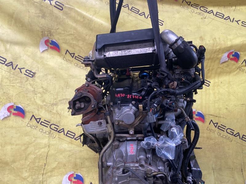 Двигатель Mitsubishi Pajero Mini H58A 4A30T 853450 (б/у)