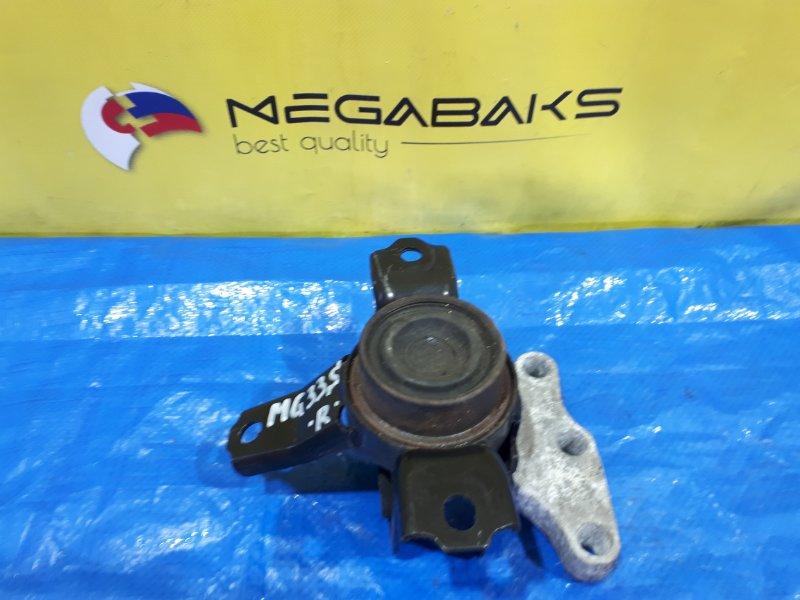 Подушка двигателя Nissan Moco MG33S R06A правая (б/у)