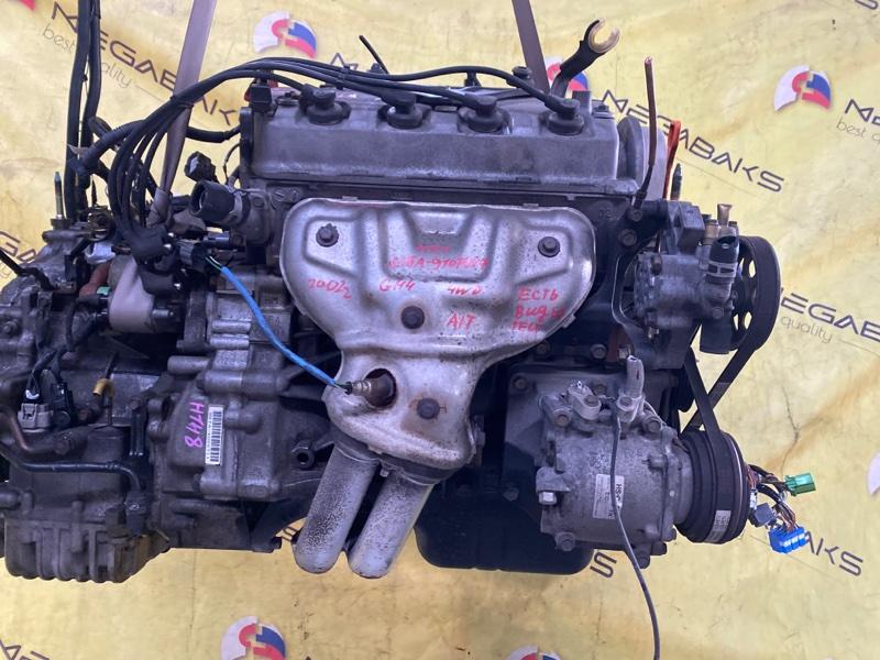 Двигатель Honda Hr-V GH4 D16A 2002 VTEC, 9107917 (б/у)