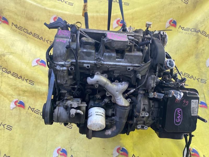 Двигатель Mazda Mpv LW5W GY 379554 (б/у)