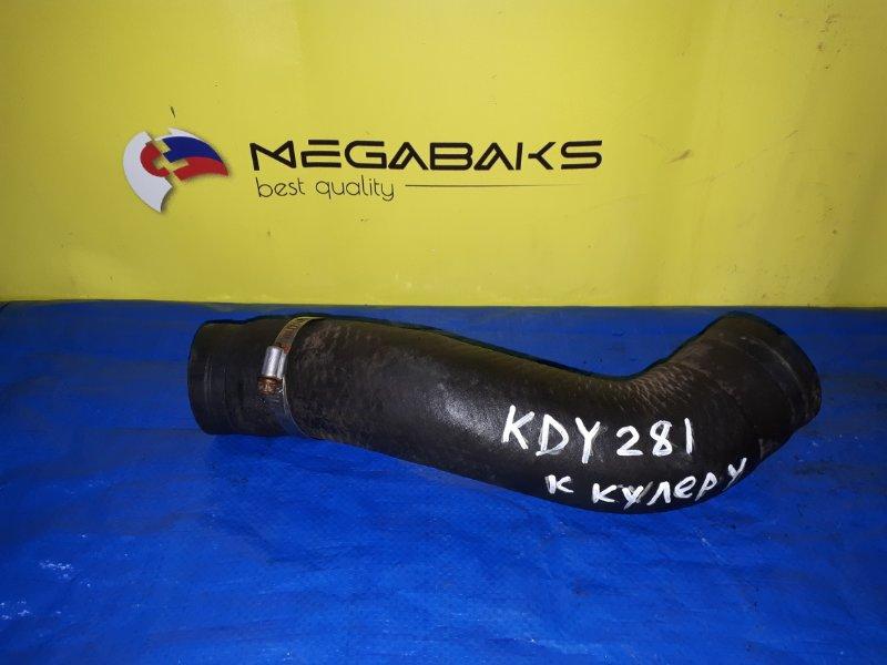 Патрубок интеркулера Toyota Dyna KDY281 1KD (б/у)