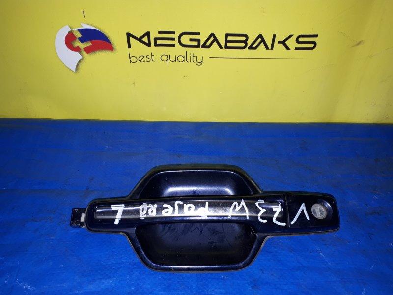 Ручка двери Mitsubishi Pajero V75W передняя левая (б/у)