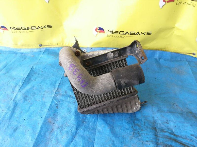 Радиатор интеркулера Nissan Gloria ENY33 RB25DET (б/у)