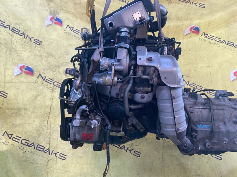 Двигатель Mitsubishi Pajero Mini H58A 4A30T 2005 090717 (б/у)