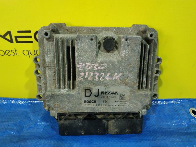 Блок efi Nissan Caravan VWE25 ZD30DDTI 23710 VZ22E (б/у)
