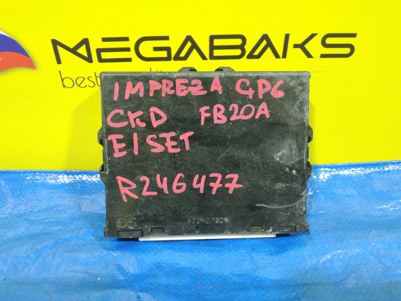 Блок efi Subaru Impreza GP6 FB20A 22765 AC340 (б/у)