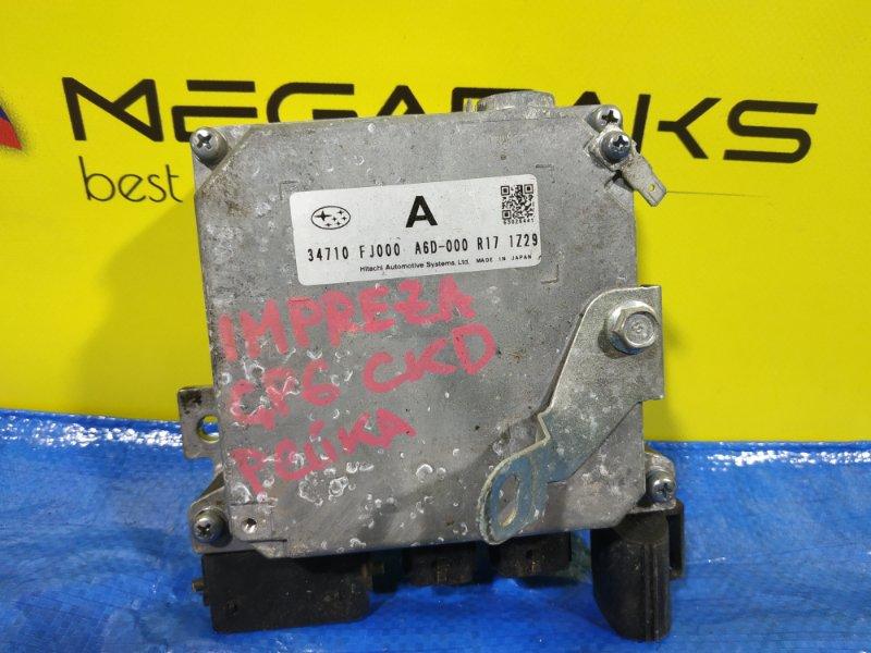 Блок управления рулевой рейкой Subaru Impreza GP6 FB20A 34710 FJ000 (б/у)