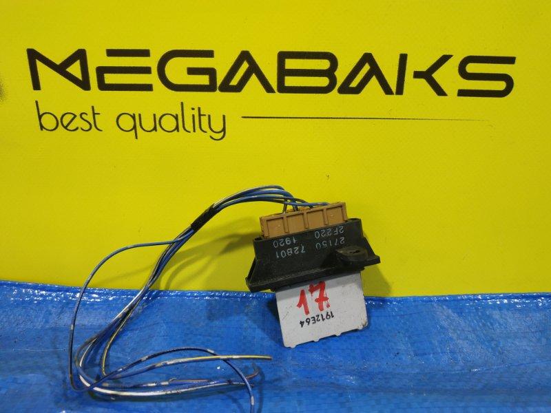 Реостат Nissan Cube Z10 27150 72B01 (б/у)