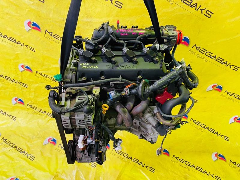 Двигатель Nissan Primera WTP12 QR20DE 2002 286352A (б/у)