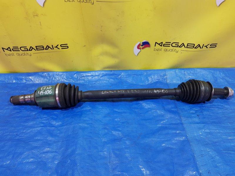 Привод Subaru Legacy BL5 передний (б/у)
