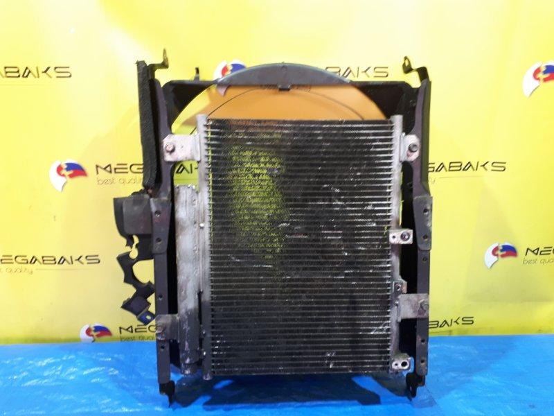 Радиатор кондиционера Mitsubishi Canter FE73EB 4M51 (б/у)