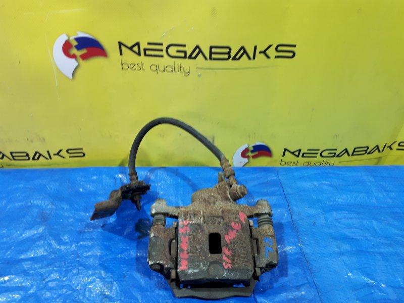 Суппорт Nissan Stagea WGNC34 задний левый (б/у)