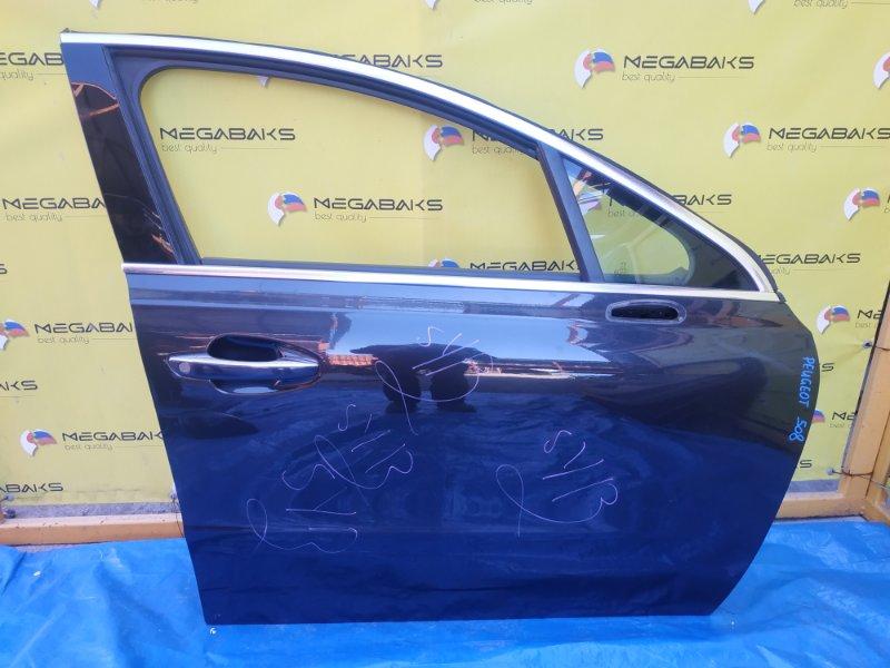 Дверь Peugeot 508 передняя правая (б/у)