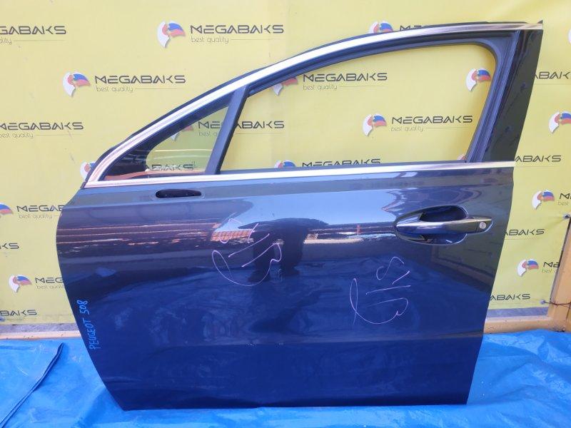 Дверь Peugeot 508 передняя левая (б/у)
