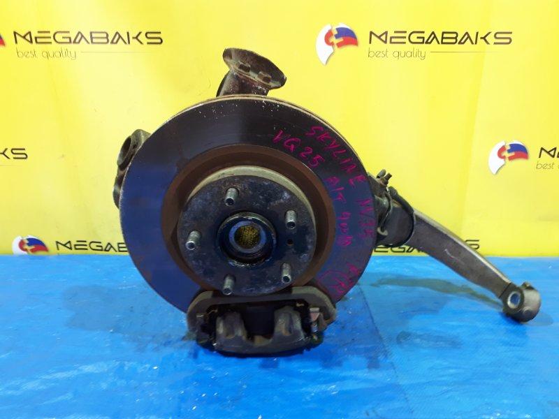 Ступица Nissan Skyline NV35 VQ25DE передняя правая (б/у)