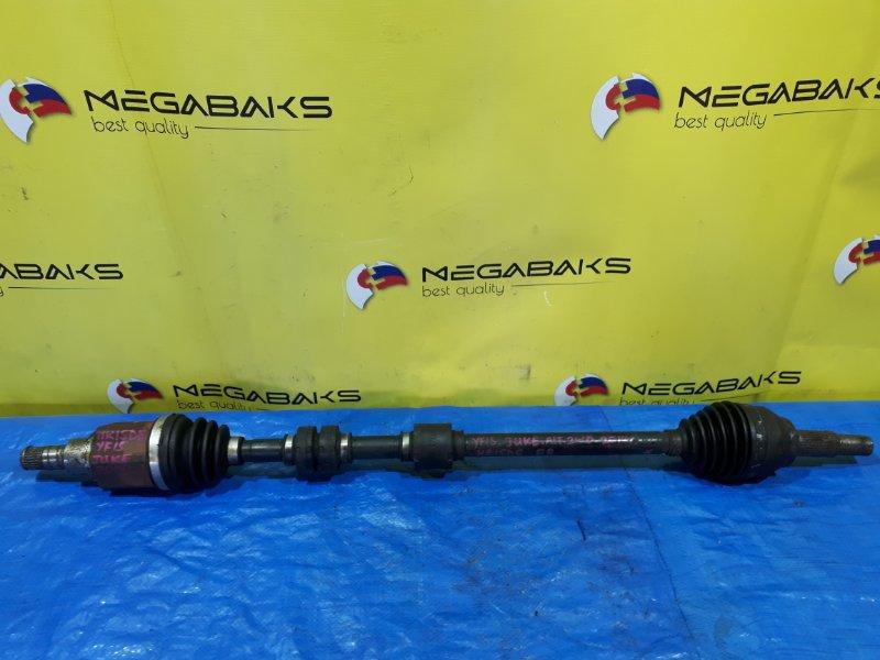 Привод Nissan Juke YF15 HR15DE передний правый (б/у)