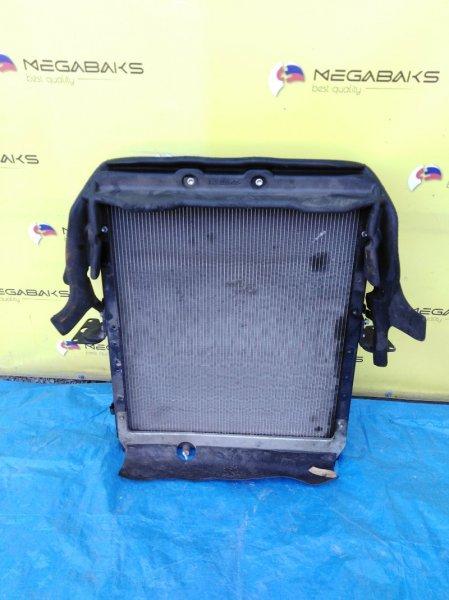 Радиатор основной Toyota Dyna XKU710 N04C (б/у)
