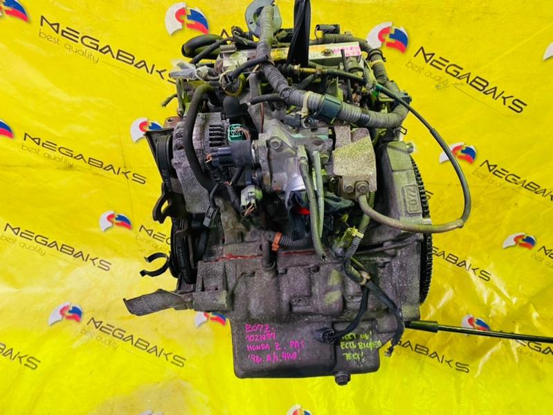 Двигатель Honda Z PA1 E07ZT 1998 1021877 (б/у)