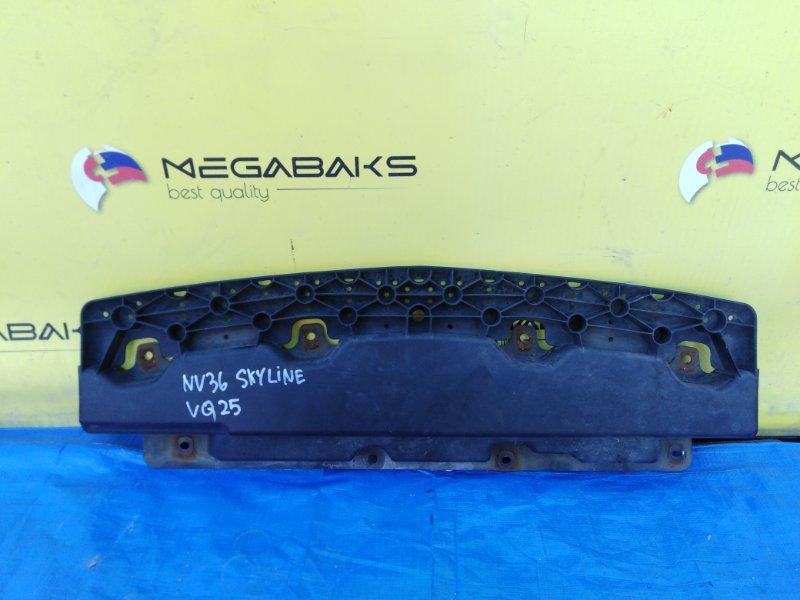Защита бампера Nissan Skyline NV36 передняя (б/у)