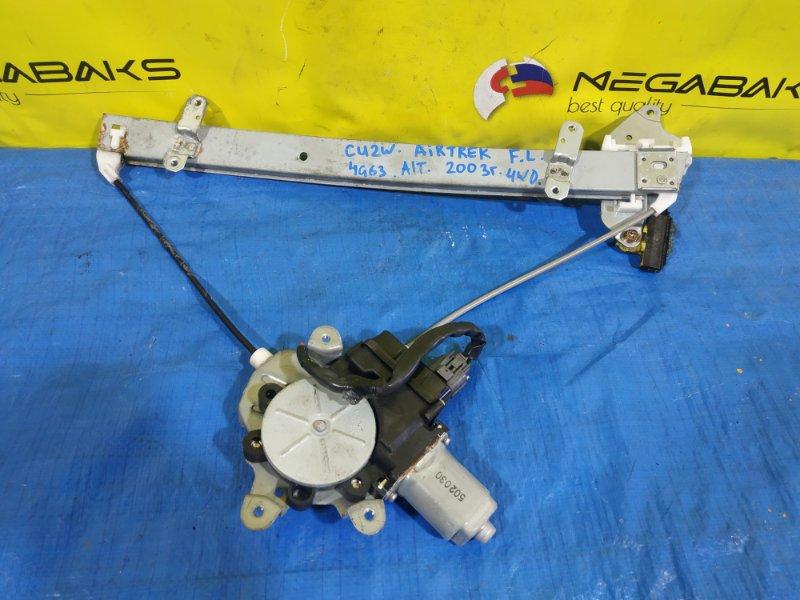 Стеклоподъемник Mitsubishi Airtrek CU2W передний левый (б/у)