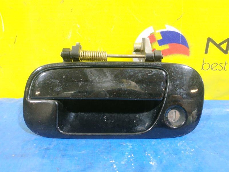 Ручка двери Honda Rafaga CE4 передняя левая (б/у)