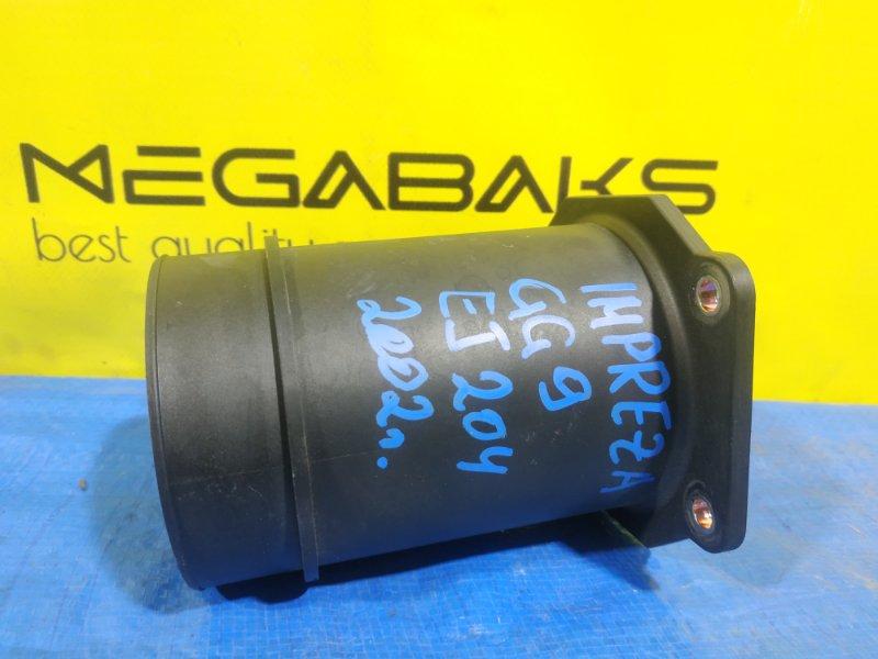 Расходомер воздушный Subaru Impreza GG9 EJ204 22680 AA290 (б/у)