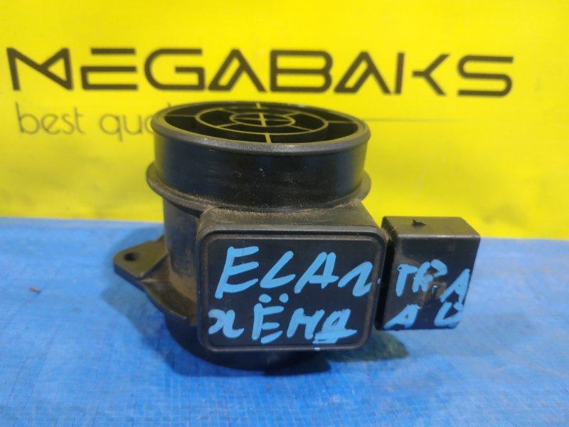 Расходомер воздушный Hyundai Elantra XD G4GC 5WK9 6431 (б/у)