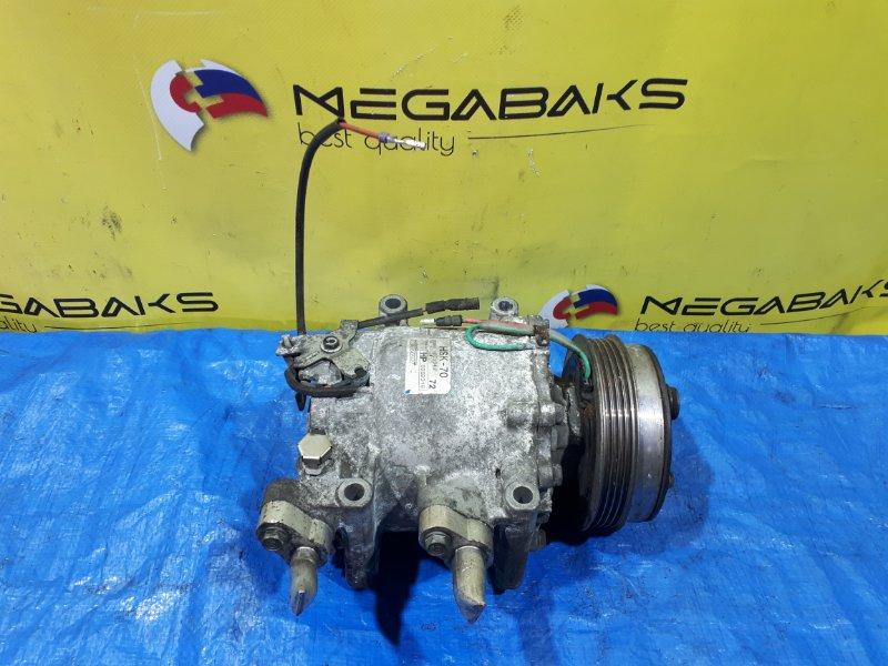 Компрессор кондиционера Honda Insight ZE2 LDA HSK70 (б/у)
