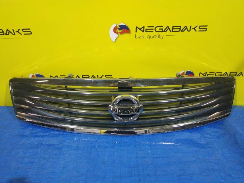 Решетка радиатора Nissan Skyline V36 62070 JK600 (б/у)