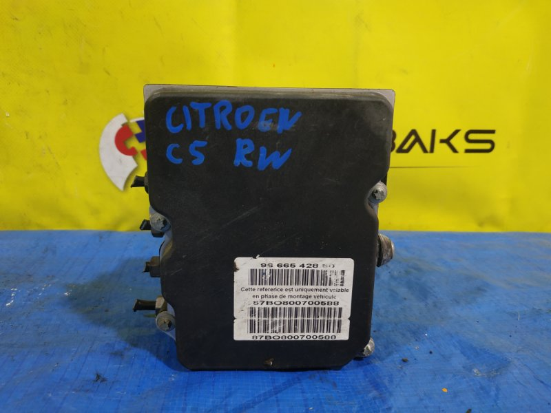 Блок abs Citroen C5 RD 96665 428 80 (б/у)