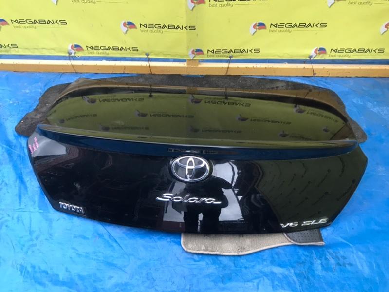 Крышка багажника Toyota Solara MCV31L (б/у)