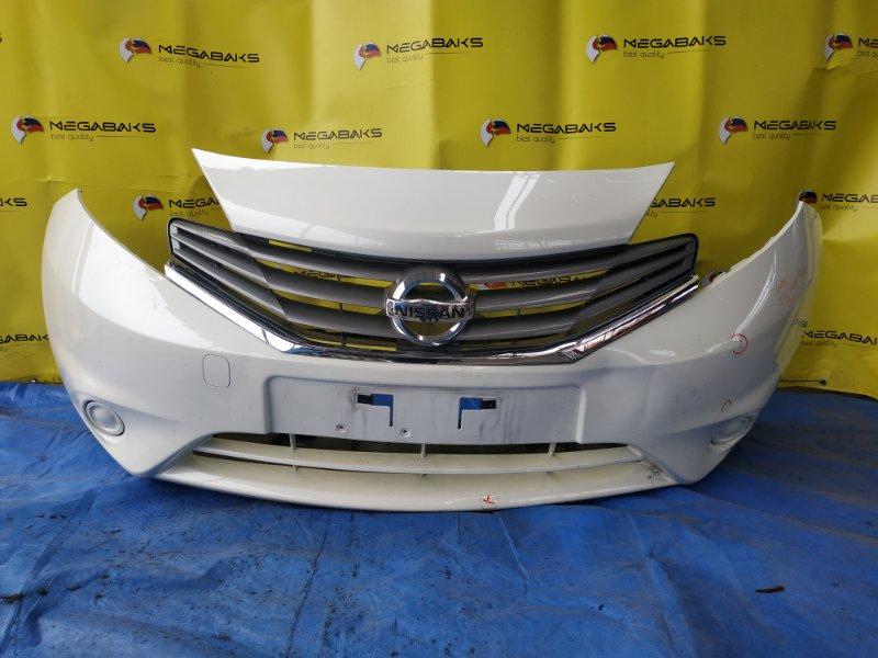 Бампер Nissan Note E12 передний I MODEL (б/у)
