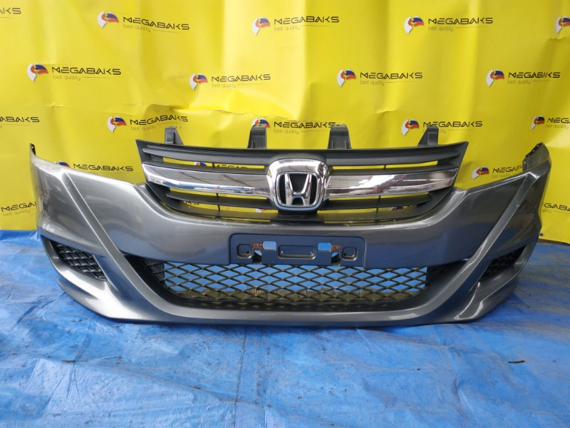 Бампер Honda Stream RN6 передний II MODEL (б/у)