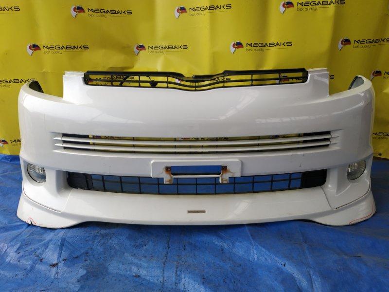 Бампер Toyota Voxy ZRR75 передний I MODEL (б/у)