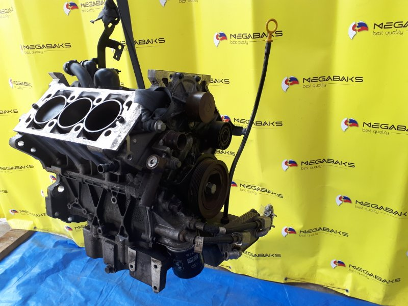 Блок двигателя Land Rover Freelander L314 25K4F 2003 86000 пробег (б/у)