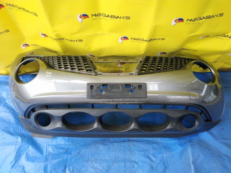 Бампер Nissan Juke YF15 передний (б/у)