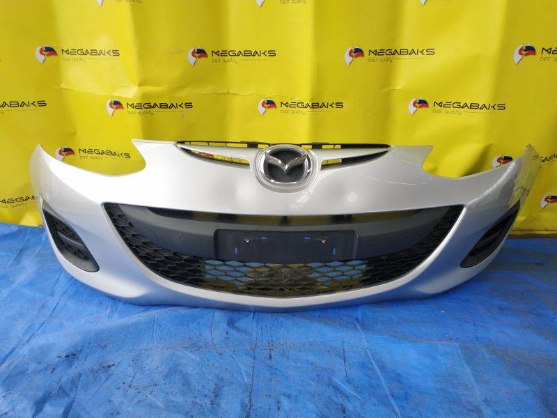 Бампер Mazda Demio DE3AS передний II MODEL (б/у)