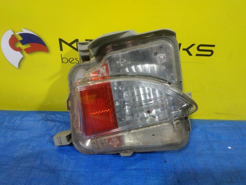 Катафот в бампер Toyota Ractis NCP120 задний правый 52-215 (б/у)
