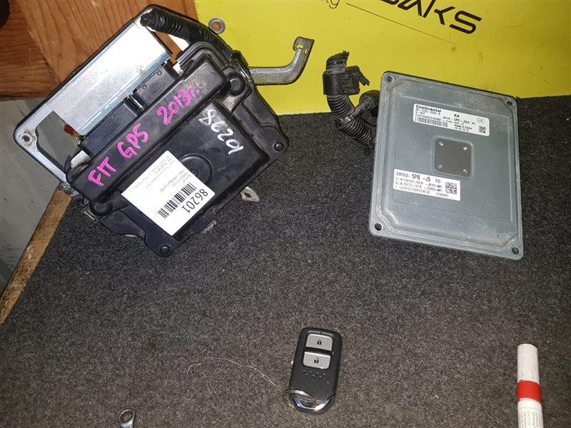 Блок управления акпп Honda Fit GP5 37820-5P6-J68, 28100-5P8-J510 (б/у)